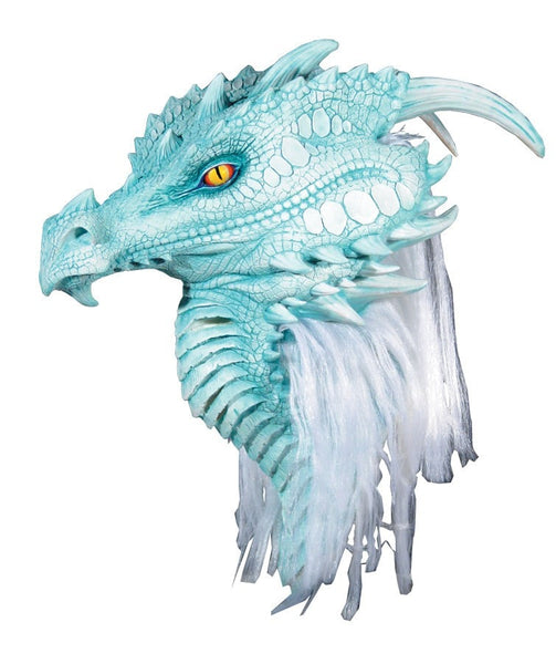 Morris Arctic Dragon Premiere Mask - MaxWigs