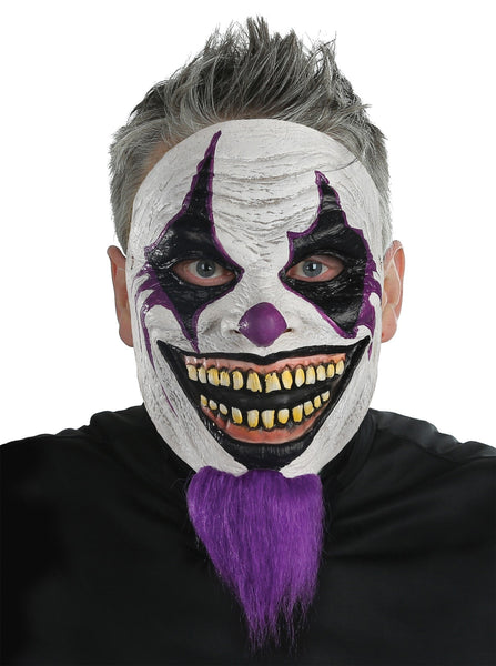 Morris Bearded Clown Mask - MaxWigs