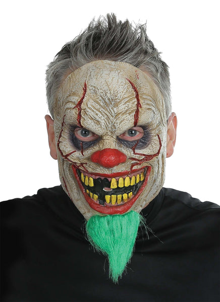 Morris Bad News Clown Mask - MaxWigs