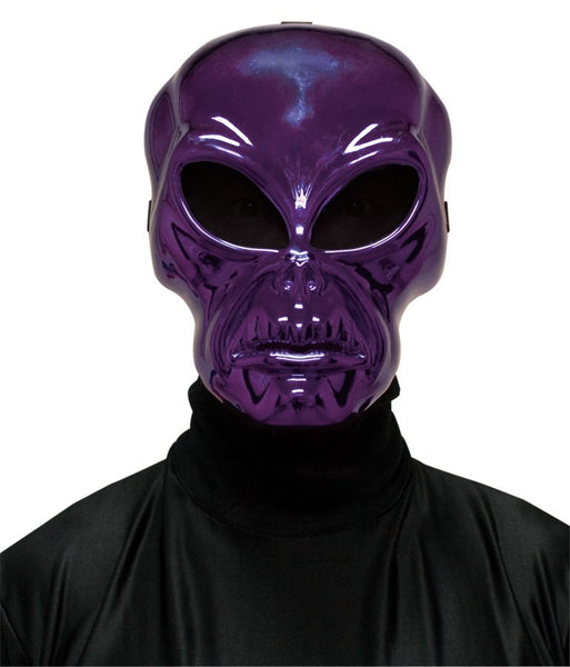 Morris Alien Hockey Purple Mask - MaxWigs