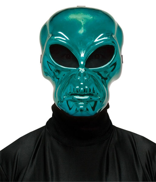 Morris Alien Hockey Green Mask - MaxWigs