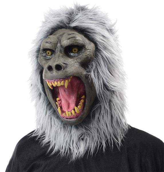 Morris Baboon Latex Mask - MaxWigs