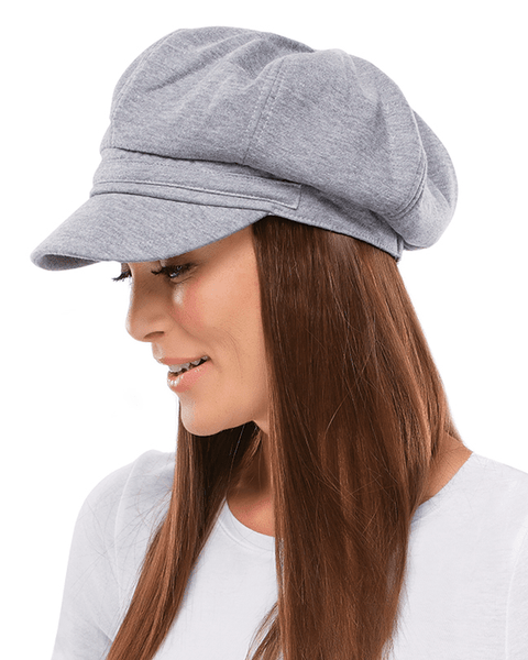 Jon Renau Fleece Newsboy Hat - MaxWigs