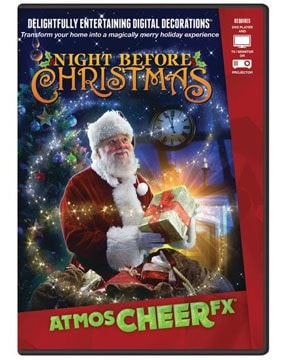 Morris AtmoscheerFX Night Before Christmas DVD - MaxWigs