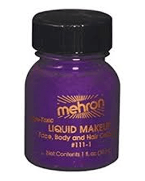 Morris Liquid Makeup 1 Oz Purple - MaxWigs