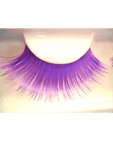 Lacey Costume Purple Eyelashes - MaxWigs