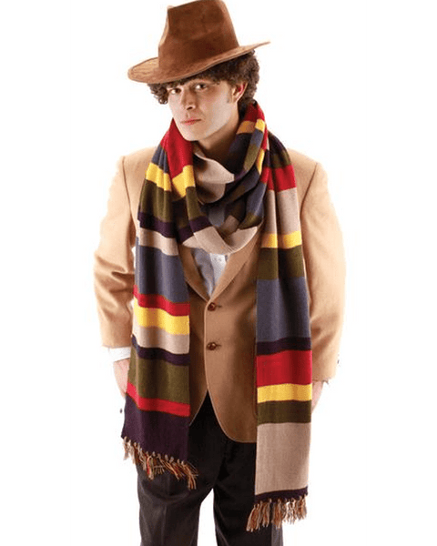 Morris Doctor Who 4th Dr. Long Scarf - MaxWigs