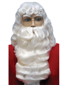 Lacey Costume Santa Claus Set Deluxe 001EX Extra Large - MaxWigs
