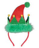 Morris Santa Helper Headband - MaxWigs