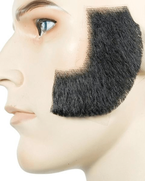 Lacey Costume Sideburns Human Hair - MaxWigs
