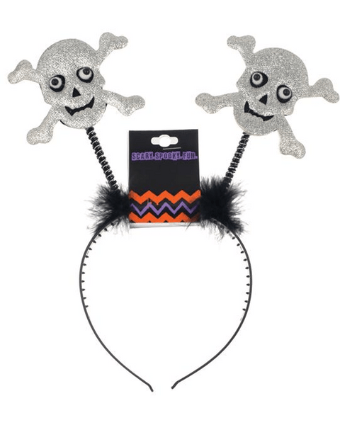 Morris Headband Skull Bopper - MaxWigs