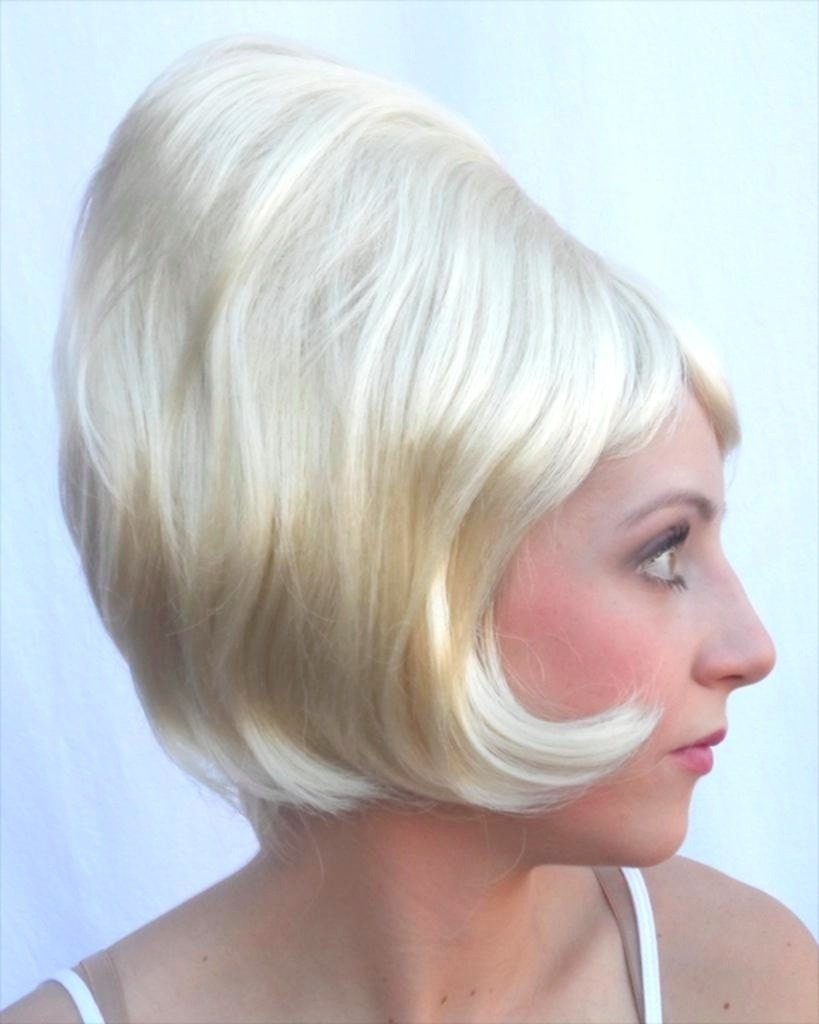 Lacey Costume Bargain Beehive Spitcurl - MaxWigs