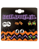 Earrings with Spooky Characters