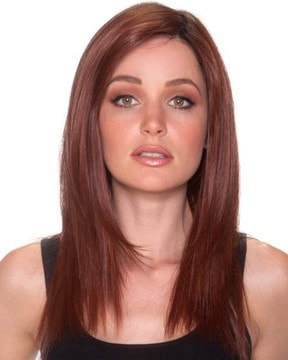"Straight Press 18"" Lace Front Heat Friendly Wig"