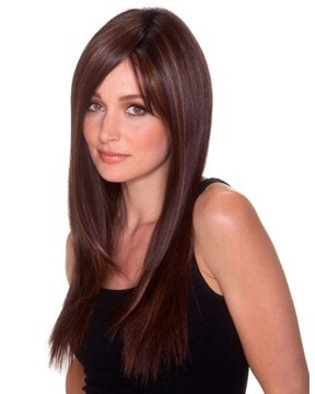 "Straight Press 23"" Lace Front Heat Friendly Wig"