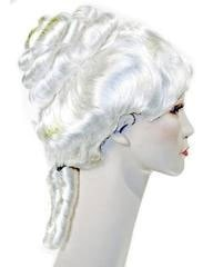 Lacey Costume Colonial Lady 18th Century Upsweep Wig - MaxWigs