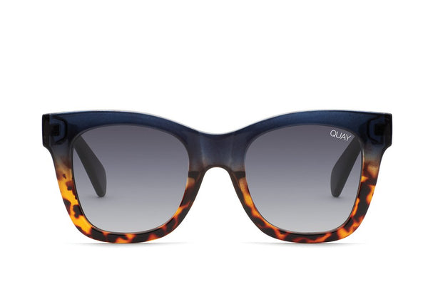 QUAY - After Hours Sunglasses in Navy/Tort