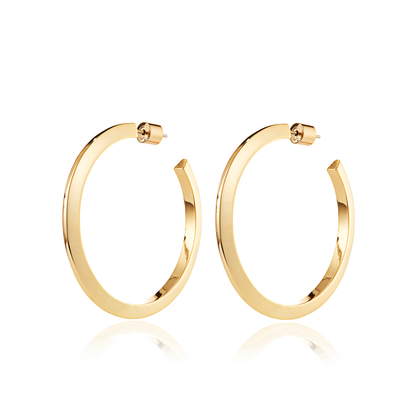 Jenny Bird - Toni Hoops Large in Gold