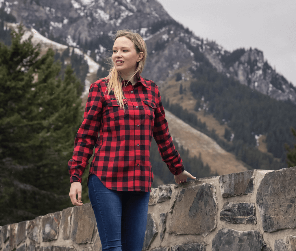 WOMENS FLANNELS. Find your favourite womens flannels from Rocky Mountain  Flannel Company. f8b2a6dc9