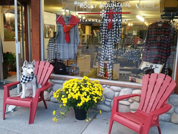 Canmore Alberta Rocky Mountain Flannel Our Store
