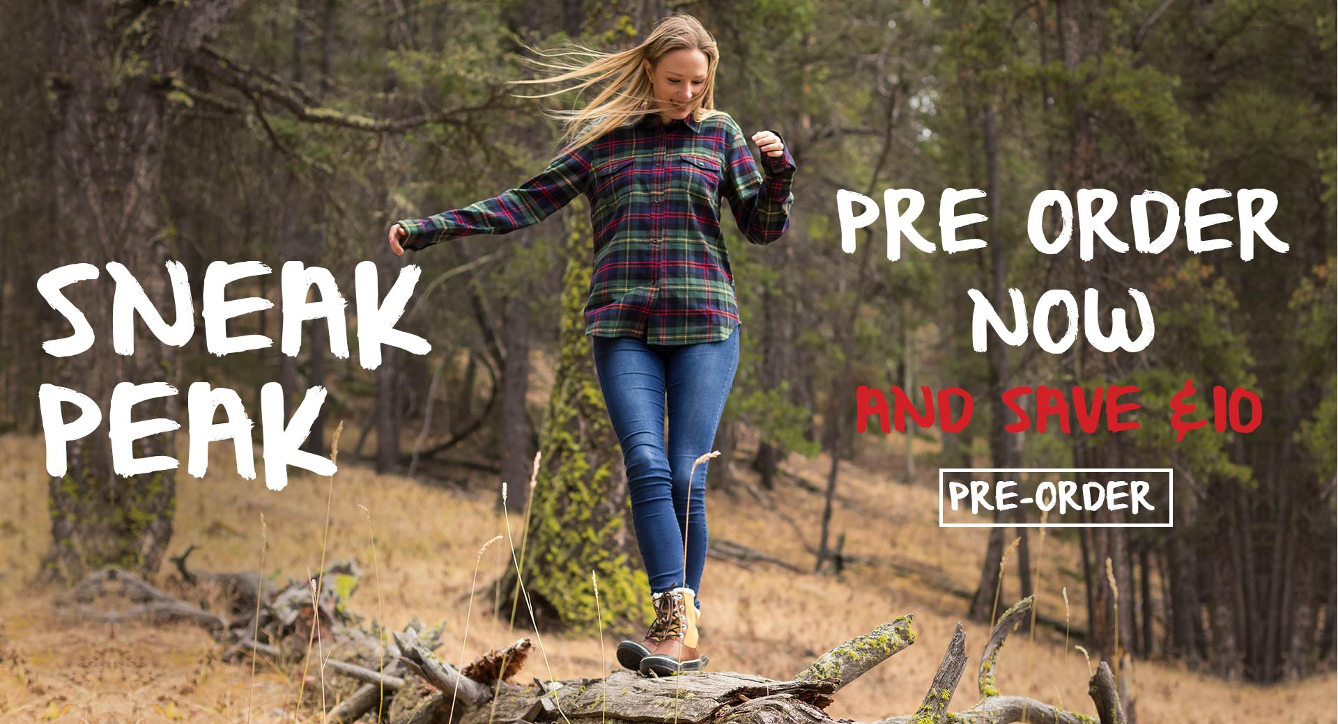 Ladies Flannel Canada Winter 2017 Sneak Peak
