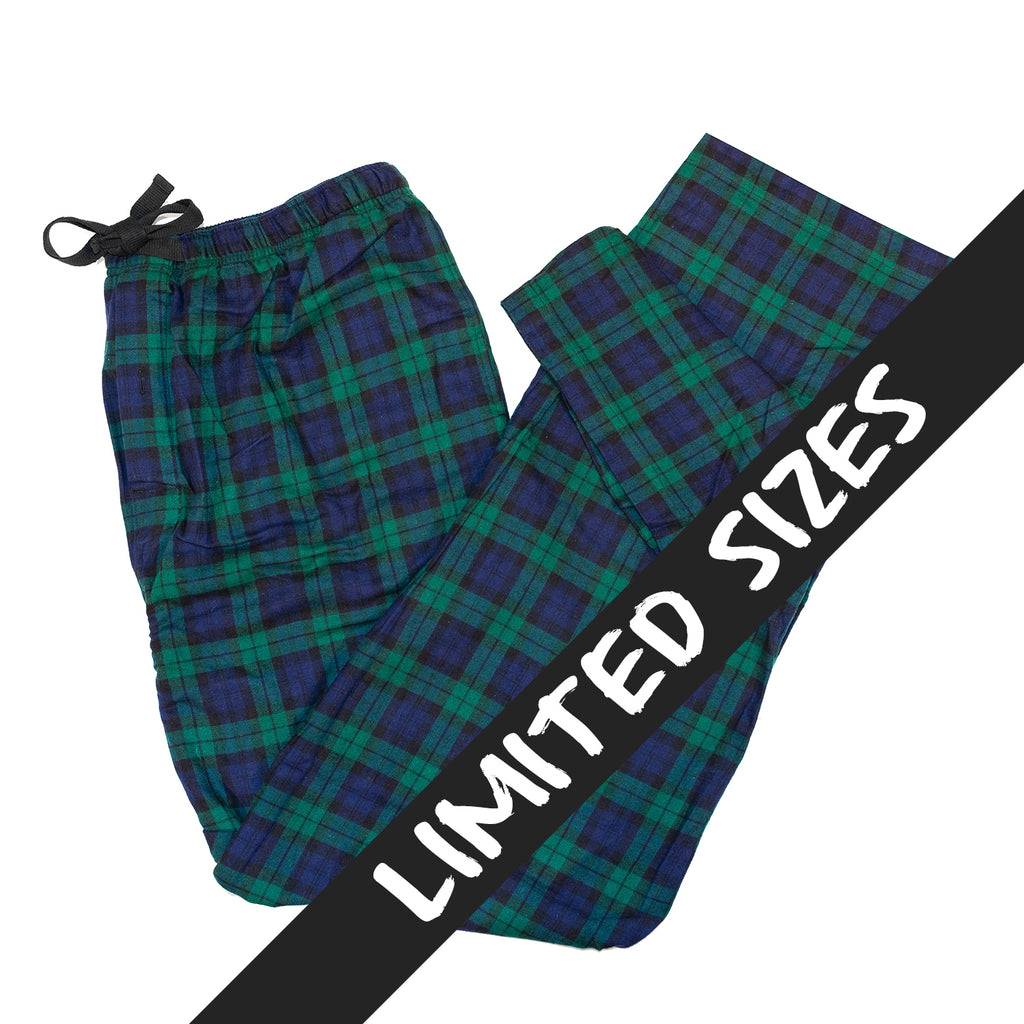 Men's Flannel Lounge Pant / Black Watch Tartan