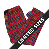 Men's Flannel Lounge Pant / Royal Stewart Tartan