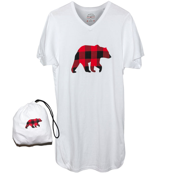 White Bear Nightshirt in a Bag