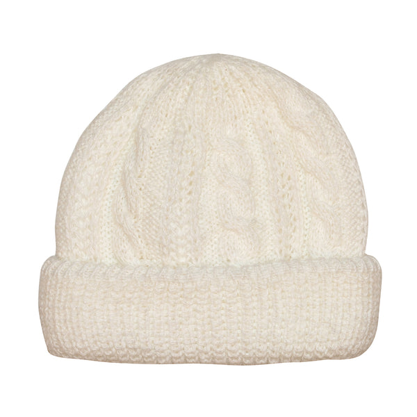 White Angora Toque