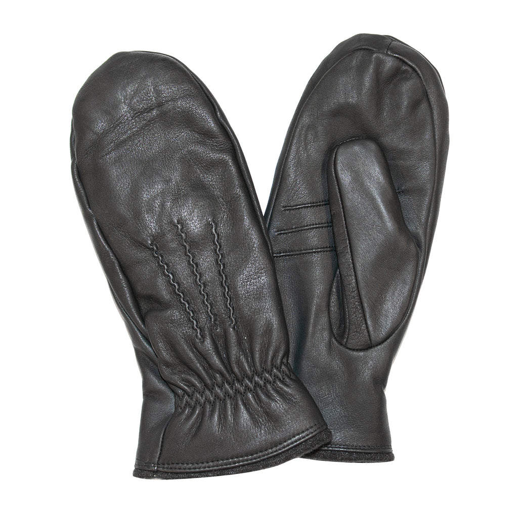 Ladies Gloved Mittens Black
