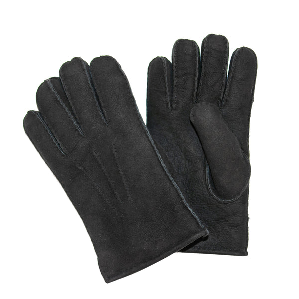Men's Classic Lambskin Gloves in Black