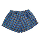 Shorts in Blue / Navy with Khaki Stripe