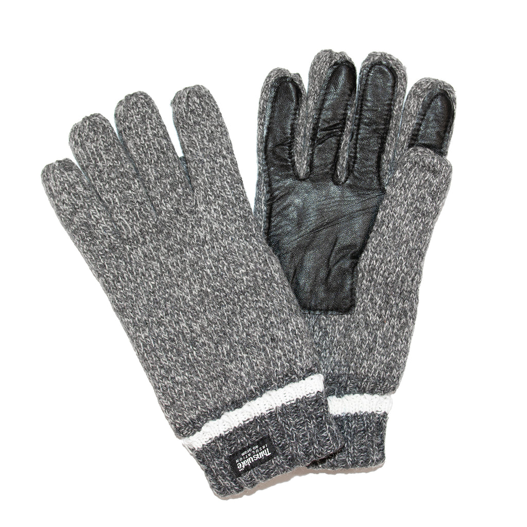 Men's Thinsulate Gloves Light Grey