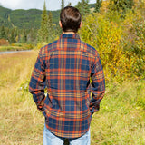 412 Blue Brick Mens Flannel Shirt