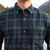 812 Black Watch Mens Flannel Shirt