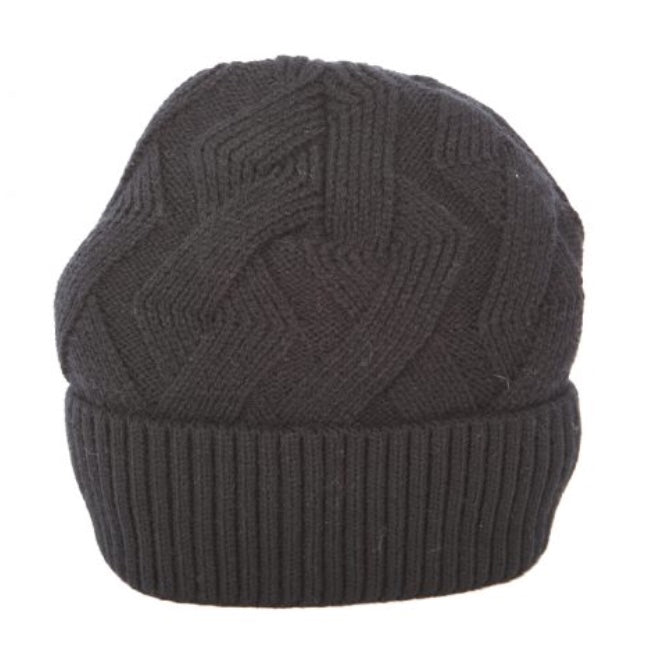 Winter Toque with Lining in Black