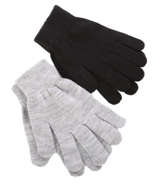 Gloves in Grey or Black