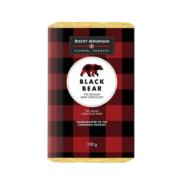 Black Bear 70% Belgian Dark Chocolate
