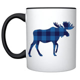 Blue Buffalo Check Moose Mug