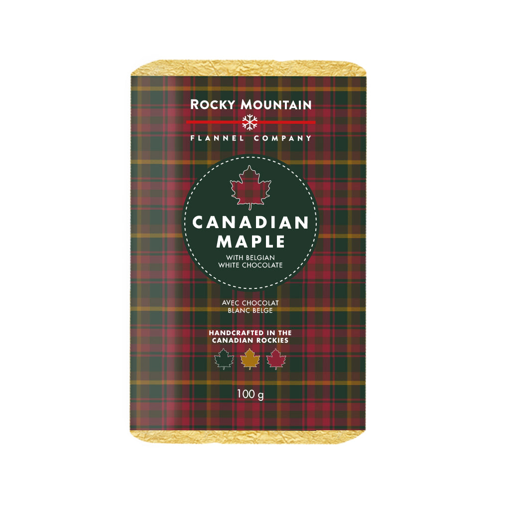 Canadian Maple with Belgian White Chocolate