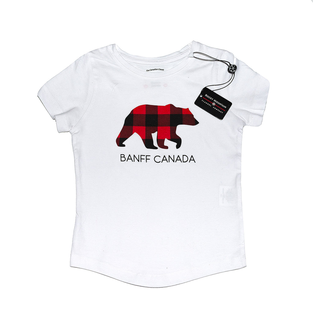 Girls Bear Banff T-Shirt