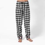 Rocky Mountain Flannel Classic 2 Pc Flannel Pyjamas with Loon Logo in Large Buffalo Check Pant View