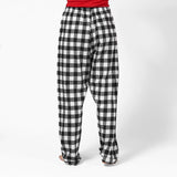 Easy Fit 2 Pc. Flannel Pyjamas with Bear Logo in Large Buffalo Check