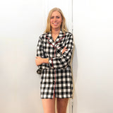 Classic Nightshirt in Large Buffalo Check