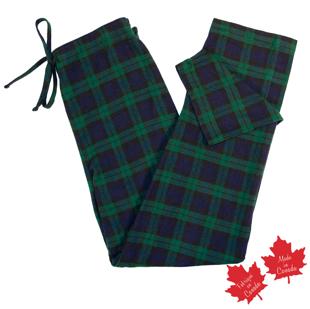 Flannel Lounge Pant in Blackwatch