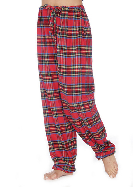Rocky Mountain Flannel  Lounge pant in Royal Stewart