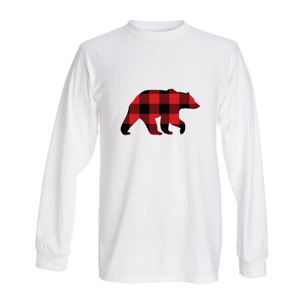 Long Sleeve Bear T-Shirt