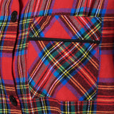 115/ Easy Fit 2 Pc. Flannel Pyjamas / Royal Stewart Tartan