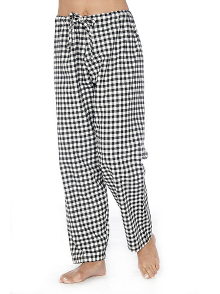 Rocky Mountain Flannel  Lounge pant in small buffalo check