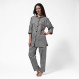 Rocky Mountain Flannel Easy Fit 2 Pc. Flannel Pyjamas in Small Buffalo Check Front View